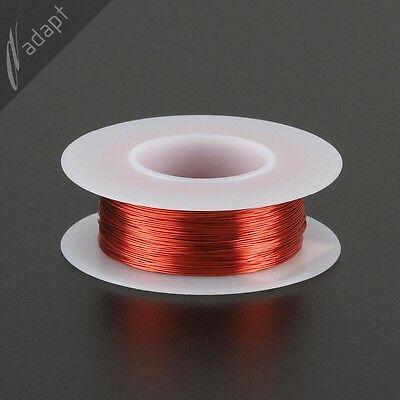 Magnet Wire Enameled Copper Red 28 Awg Gauge Hpn 155c 18 Lb 250ft