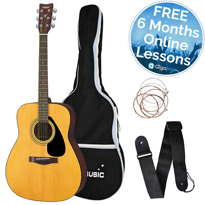 Yamaha F310 Full Size Steel String Acoustic Guitar Pack with Bag