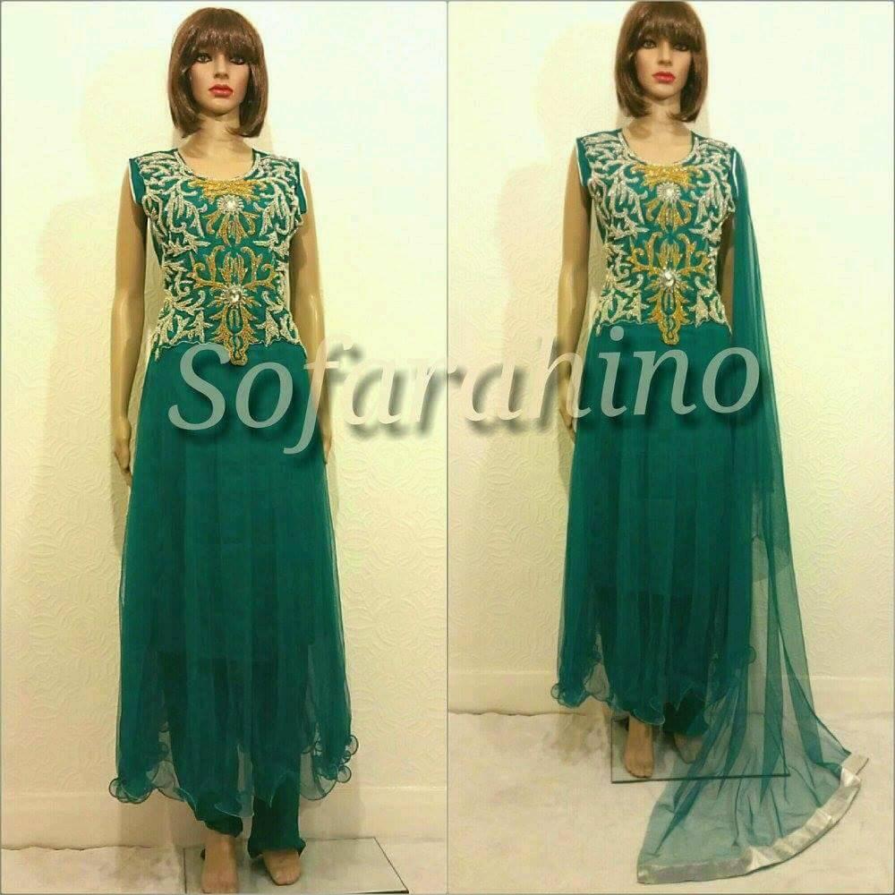 94774c345 Indian Pakistani Eid new Full 3piece stitched Party Wear Dress ...