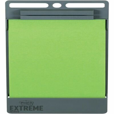 New In Box Post-it Xl Extreme Notes Holder - 25 Sheet Note Capacity - Gray