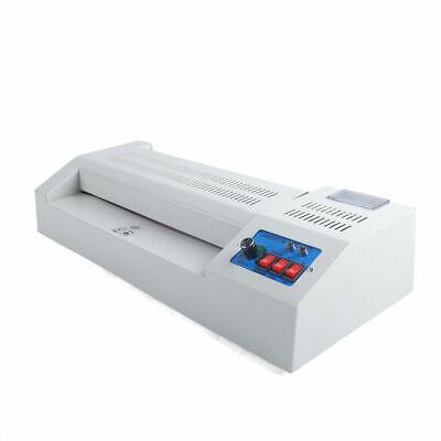 13 Inch Hot Thermal Laminating Machine 4-roll Hot Cold Laminator Machine 600w