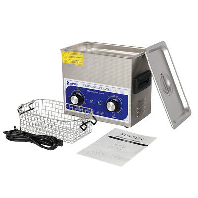 3l Digital Stainless Steel Dental Medical 3 Liter Ultrasonic Cleaner