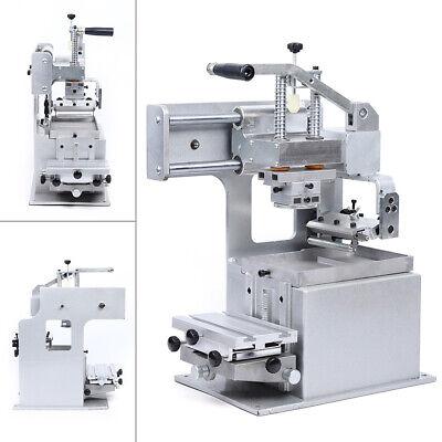Manual Pad Printing Printer Machine Sealed Ink Cup System Plate Pad Diy Full Kit