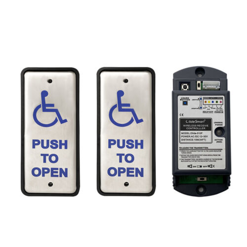 Olide-511 Wireless Auto-door Narrow Handicapped Push Button For Disabled People