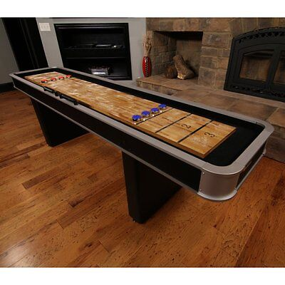 Atomic 9 ft. Platinum Shuffleboard Table, One Size