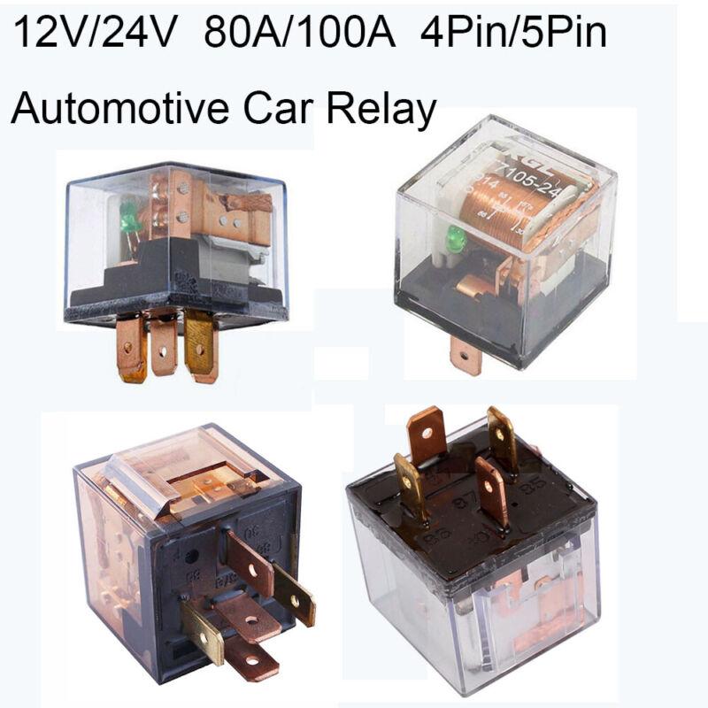 vergleiche 80a relais 4pin 5pin automobil 100 12v controller 24v auto