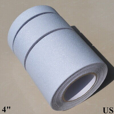 Clear Anti Slip Tape 4 X16feet Rubberized Non-skid Stickers New Design Us