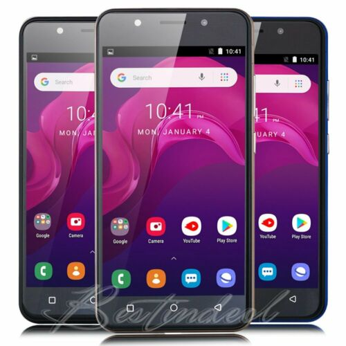 """Android Phone - 5"""" Dual Sim Android 8.1 Smartphone Quad Core Unlocked 3G/GSM T-Mobile Cell Phone"""