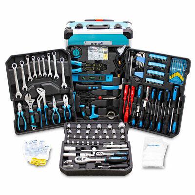 BITUXX® 799 tlg Werkzeugkoffer Set Werkzeugkasten Werkzeugbox Werkzeugtrolley XL