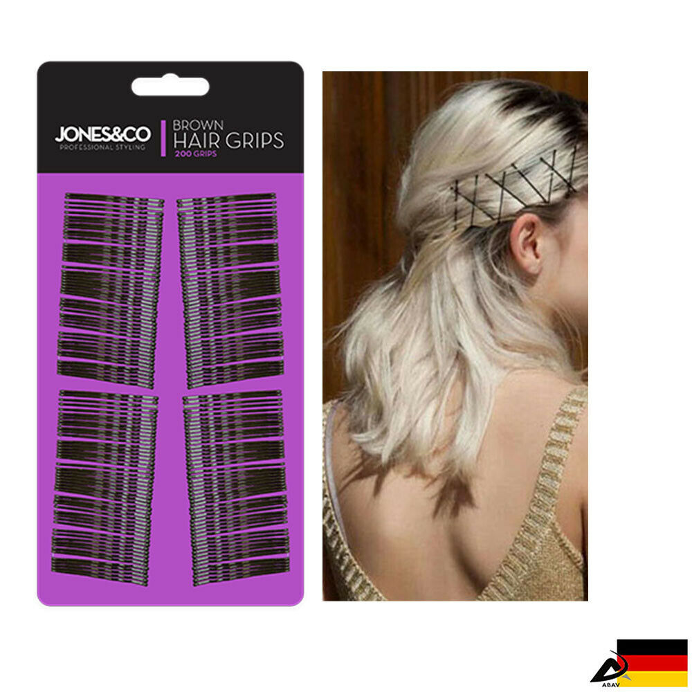 Haarklemmen Haarnadeln Haarklammern 200 Stück Haarklammern Haarclip Welle