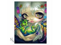 Darling Dragonling 3D Picture 28 x 38cm - Brand New Still in Packaging - Nemesis Now