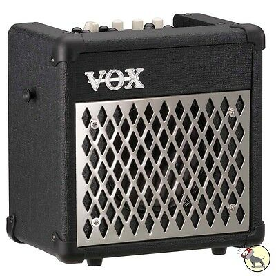 Vox MINI5 Rhythm Modeling 5-Watt Battery Powered Guitar Combo Amplifier Amp