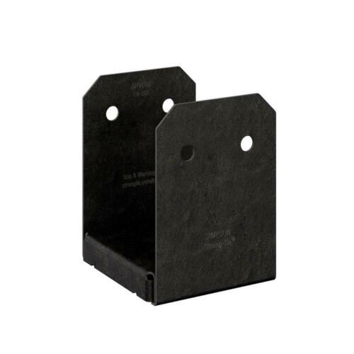 Simpson Strong-Tie Outdoor Accents Avant ZMAX, Black Powder-Coated Post Base 6x6
