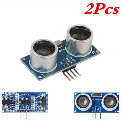 2x Arduino Ultrasonic Module Hc-sr04 Distance Sensor Measuring Transducer Lot
