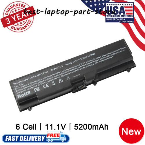 Battery/Charger for Lenovo Thinkpad T410 T420 T510 T520 SL41