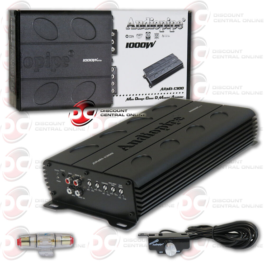 Audiopipe Mini Design Class D 2000W Amplifier