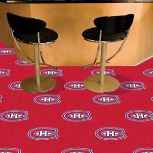 Montreal Canadiens Carpet Tiles (New)
