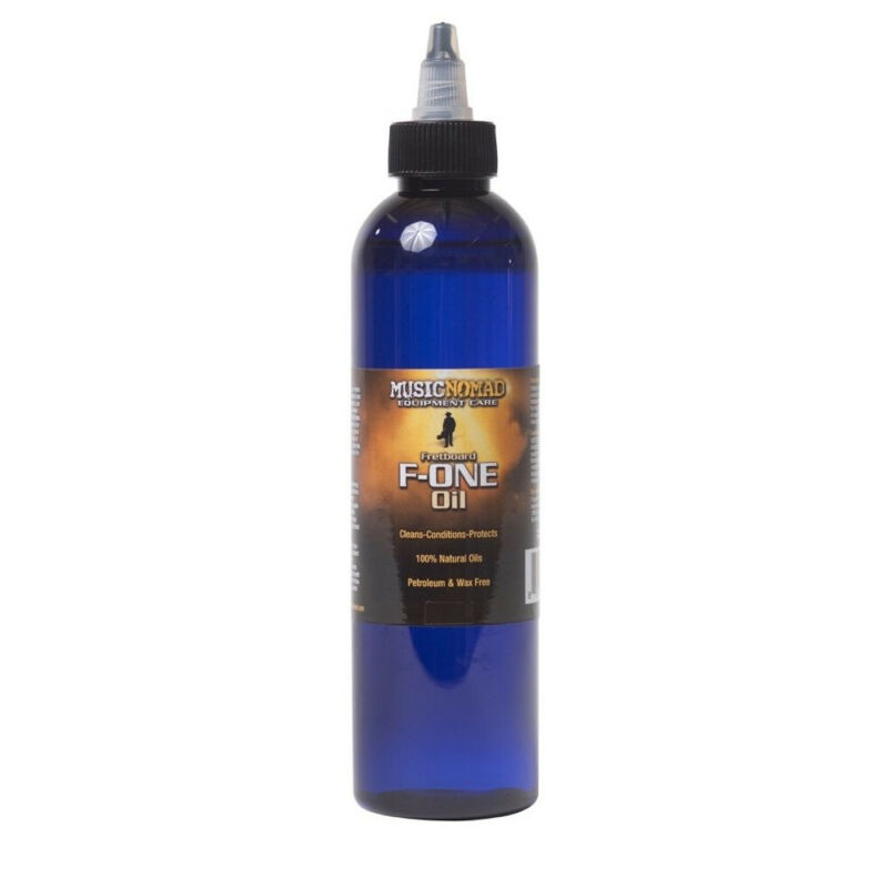 Music Nomad MN151 F-One Oil Fretboard Cleaner and Conditioner - 8 oz.