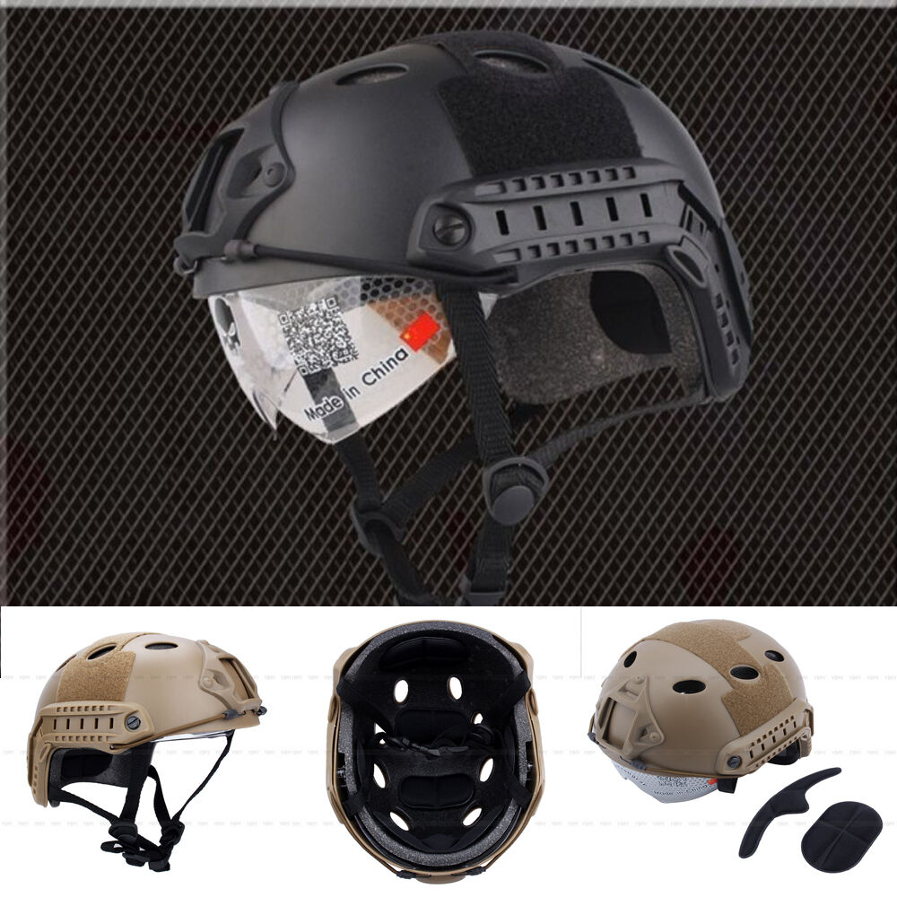Durable Military Tactical Airsoft Paintball Protective ...
