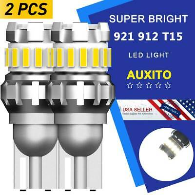36W Super Bright LED Reverse Backup Light 921 912 Bulb T15 2400LM 6500K White E