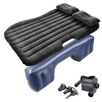 Inflatable Mattress Car Air Bed Backseat Cushion Travel Camp