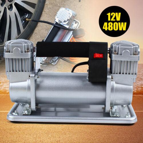 Owner Heavy Duty 150-200 PSI Car Auto Tire Inflator Pump Air Compressor 12-13.8V USA