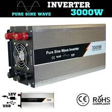 3000W / 6000w Pure Sine inverter Wave 12V-240V Power caravan 4x4 Craigie Joondalup Area Preview