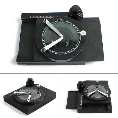 360 Degree Hand-free Inspection Rotable High Precision Working Mechanical Stage