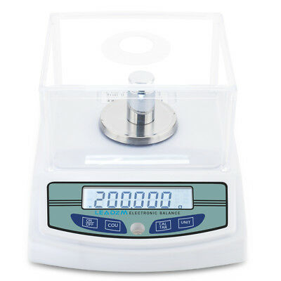 300g x 0.001g Lab Analytical Balance Digital Precision Electronic Scale + Weight Digital Lab Balance Scale