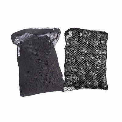 - 1 lb Active Carbon + 50 pcs Bio Balls in Media Bags for aquarium canister filter