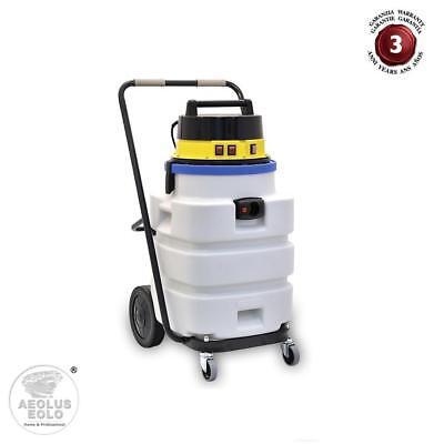 Aspiradora Aspira Líquidos y Sólidos Profesional Industrial anti-ácido EOLO LP30