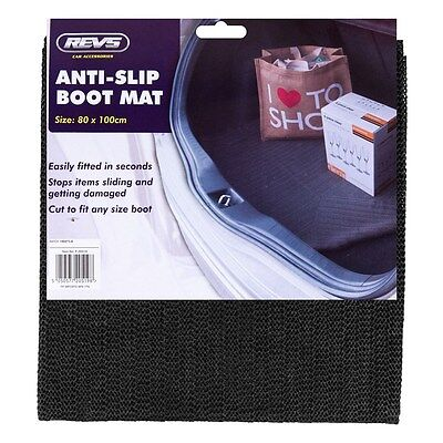 ANTI-SLIP BOOT MAT Car Non Slip Trunk Liner Protection Universal Fit Rubber