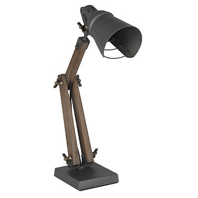 Ziggy Table Lamp Gold/Cream, Trio Table Lamp Taupe, Lincoln Desk Lamp Wood/Grey