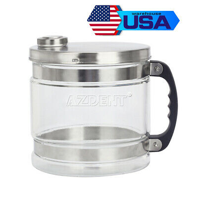 4L Glass Bottle/Jar Pure Water Alcohol Filter Bucket for Distiller Purifier US