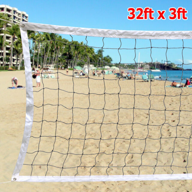 Volleyball Net Beach Indoor Outdoor Standard Official Size 32ft X ...