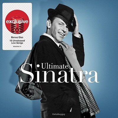 FRANK SINATRA - ULTIMATE SINATRA (DELUXE EDITION) - 2CD CD - NEW