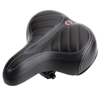 eefba684b3b Comfort Wide Big Bum Bike Bicycle Gel Cruiser Extra Sporty Soft Pad Saddle  Seat