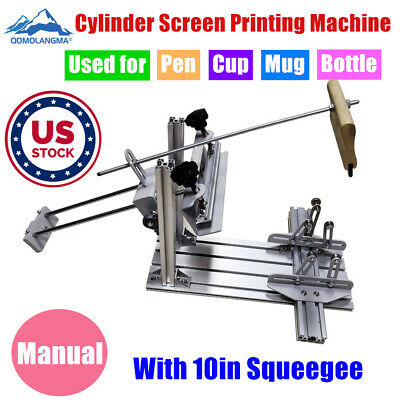 Us Manual Cylinder Screen Printing Machine Used Cylinder Screen Printing Machine