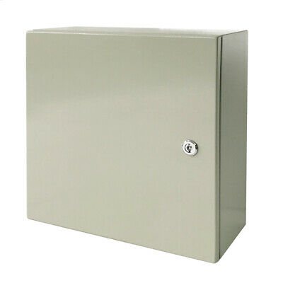 20 X 20 X 8 In Carbon Steel Electrical Enclosure Cabinet 16 Gauge Ip65