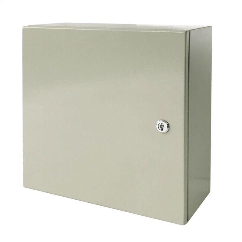 20 x 20 x 8 In Carbon Steel Electrical Enclosure Cabinet 16 Gauge IP65