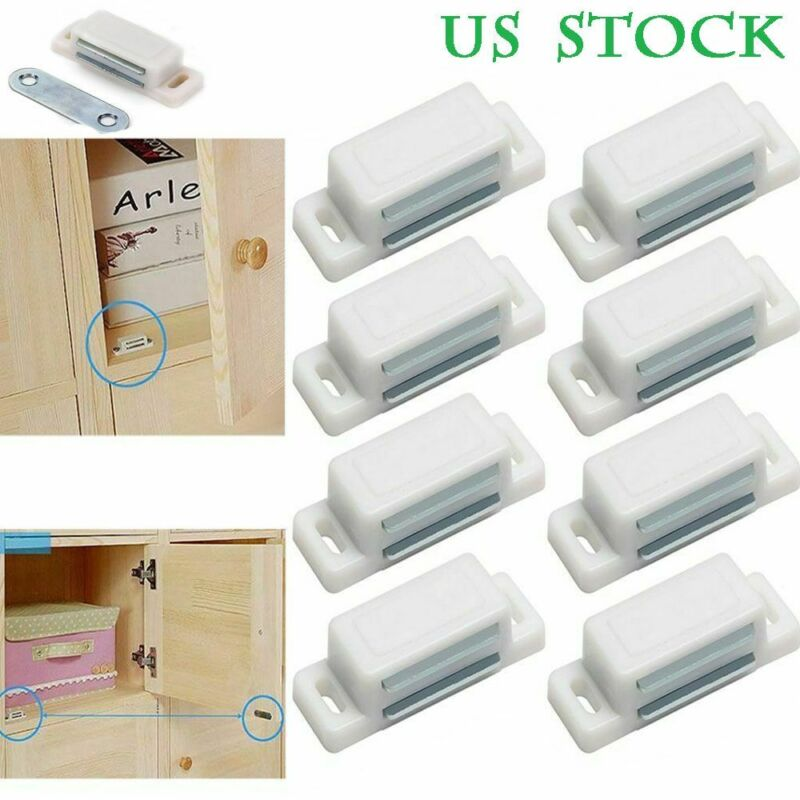 10PCS 15lb Strong Magnetic Cabinet & Door Latch/Catch Closures, Shutter Magnets