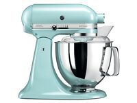 KitchenAid 5KSM175 Artisan Household Food Mixer 4.8L Tabletop Mixer Ice (NEW)