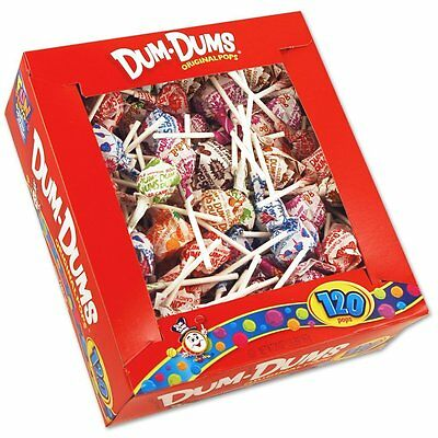 Spangler Dum Dum Lollipops Candy Suckers Lollipop Indiv Wrapped(Pack of 120) NEW](Dum Dum Candy)