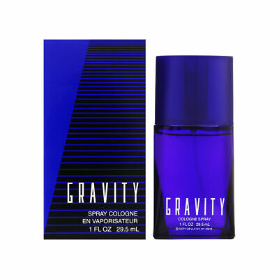 Gravity by Coty for Men 1.0 oz Cologne Spray Brand New Coty Men Cologne Spray