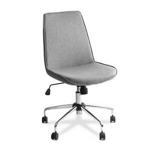 Office Chair Desk Home Computer Fabric Seat Grey Sydney City Inner Sydney Preview