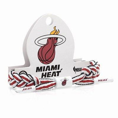 New Rastaclat NBA Miami HEAT Basketball Shoelace Bracelet RC001MIH