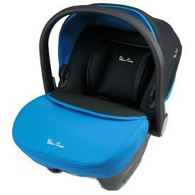 Silver Cross Wayfarer in Sky Blue, Infant car seat with Isofix