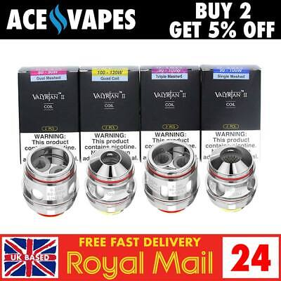 UWELL VALYRIAN 2 / II Replacement Coils Atomizers - Single, Dual & Triple Mesh