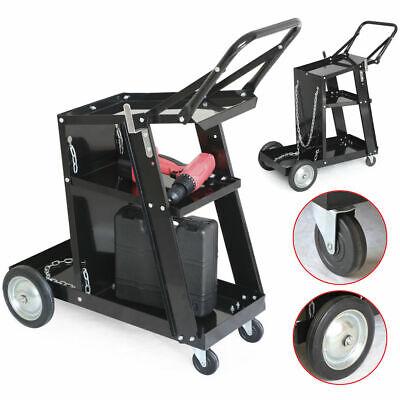 Welder Welding Cart Plasma Cutter Mig Tig Arc Universal Storage For Tanks Garage