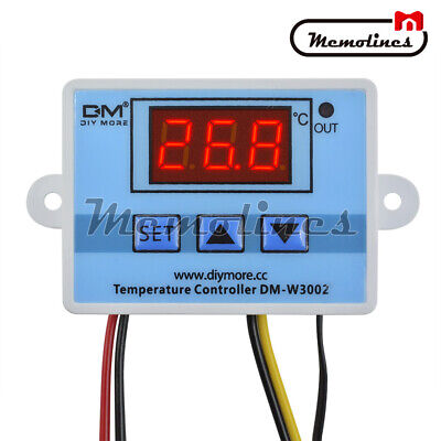 Xh-w3002 Digital Ac110-220v Led Temperature Controller Microcomputer Thermostat